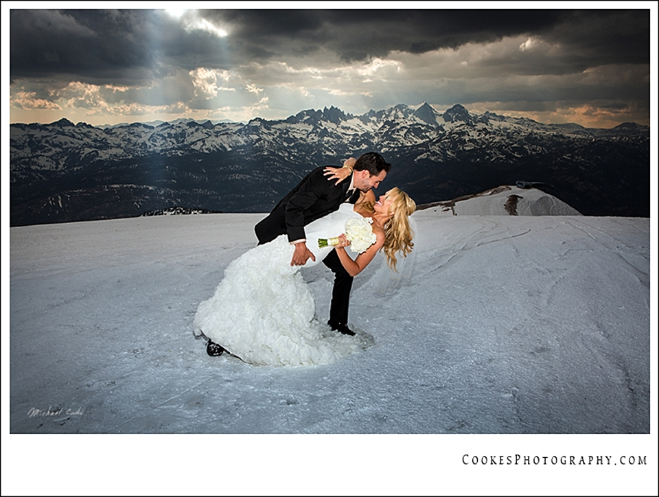 mammoth mountain winter wedding | Cooke's Fine Photography